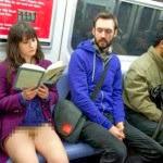 Metroda Bir Anda Soyundular !