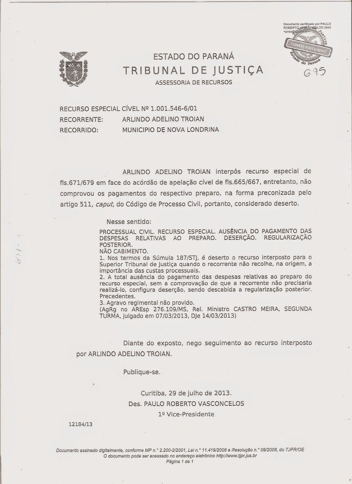 Artigo 267 inciso iv do codigo de processo civil