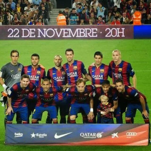 Jelang Celta Vigo Vs Barcelona: FC Barcelona Vs Celta De Vigo 2014-2015