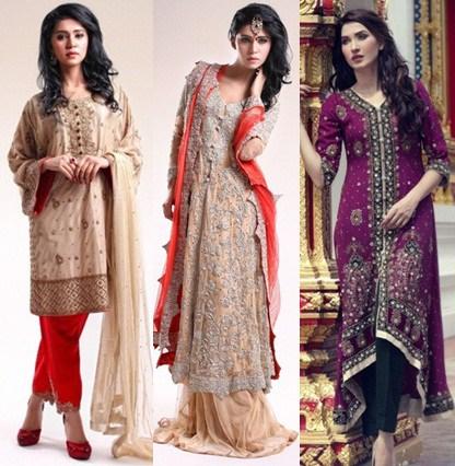 fashionupdates130: Latest Fancy Party Wear Dresses 2015-16