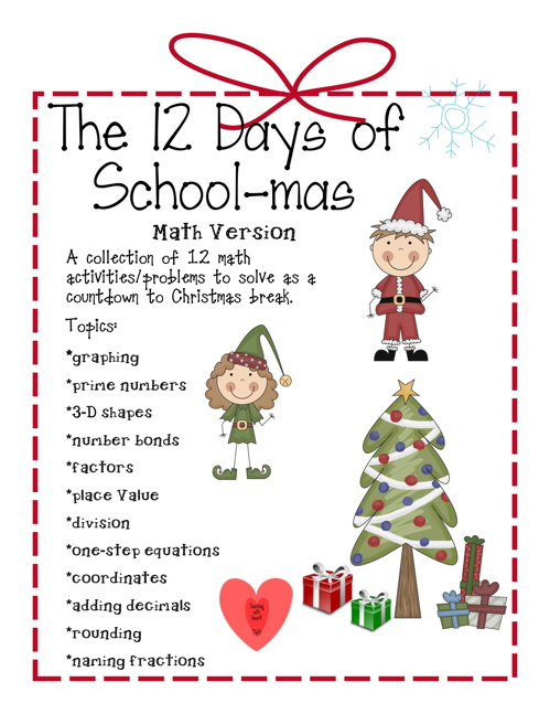 Teaching with Heart Matters : It's beginning to feel like Christmas!