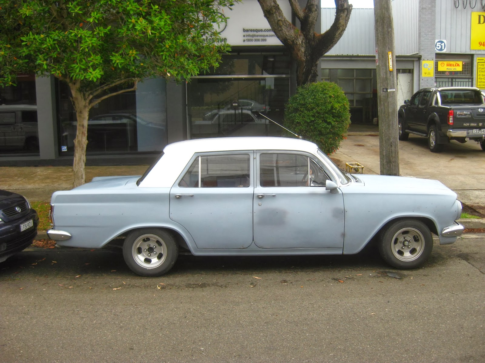 Aussie Old Parked Cars 1963 Holden Eh Special Sedan