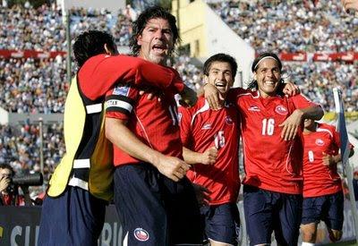 Uruguay vs Chile en VIVO
