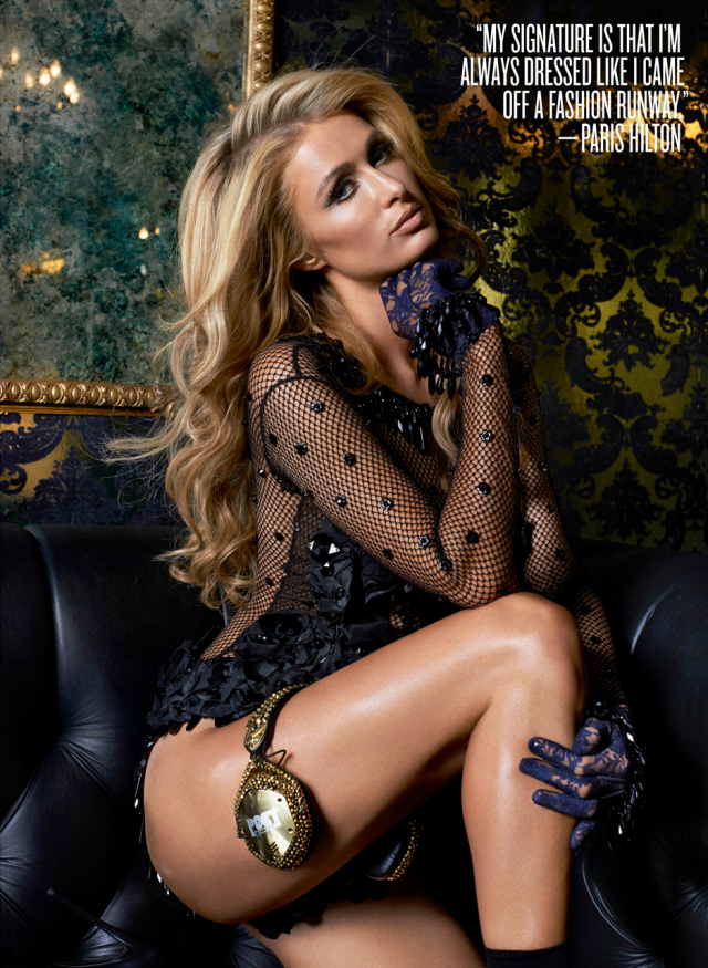 Paris Hilton luce radiante en V Magazine marzo 2014