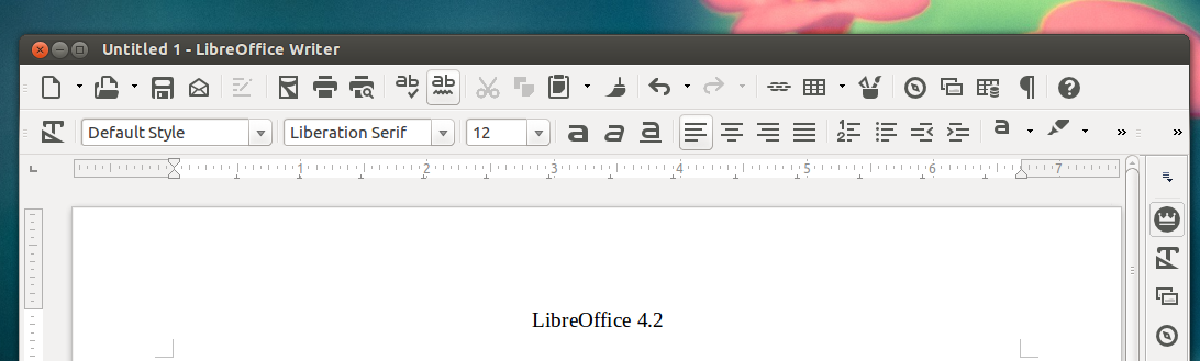 libreoffice 4.2 sifr icon theme