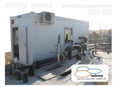 Inderen proyectos de biogas