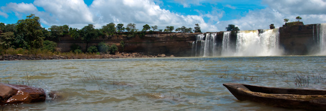 Amazing Chitrakoot waterfalls at Chhattisgarh