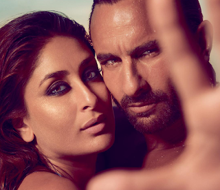 Kareena Kapoor & Saif Ali Khan shoot for Harper's Bazaar India