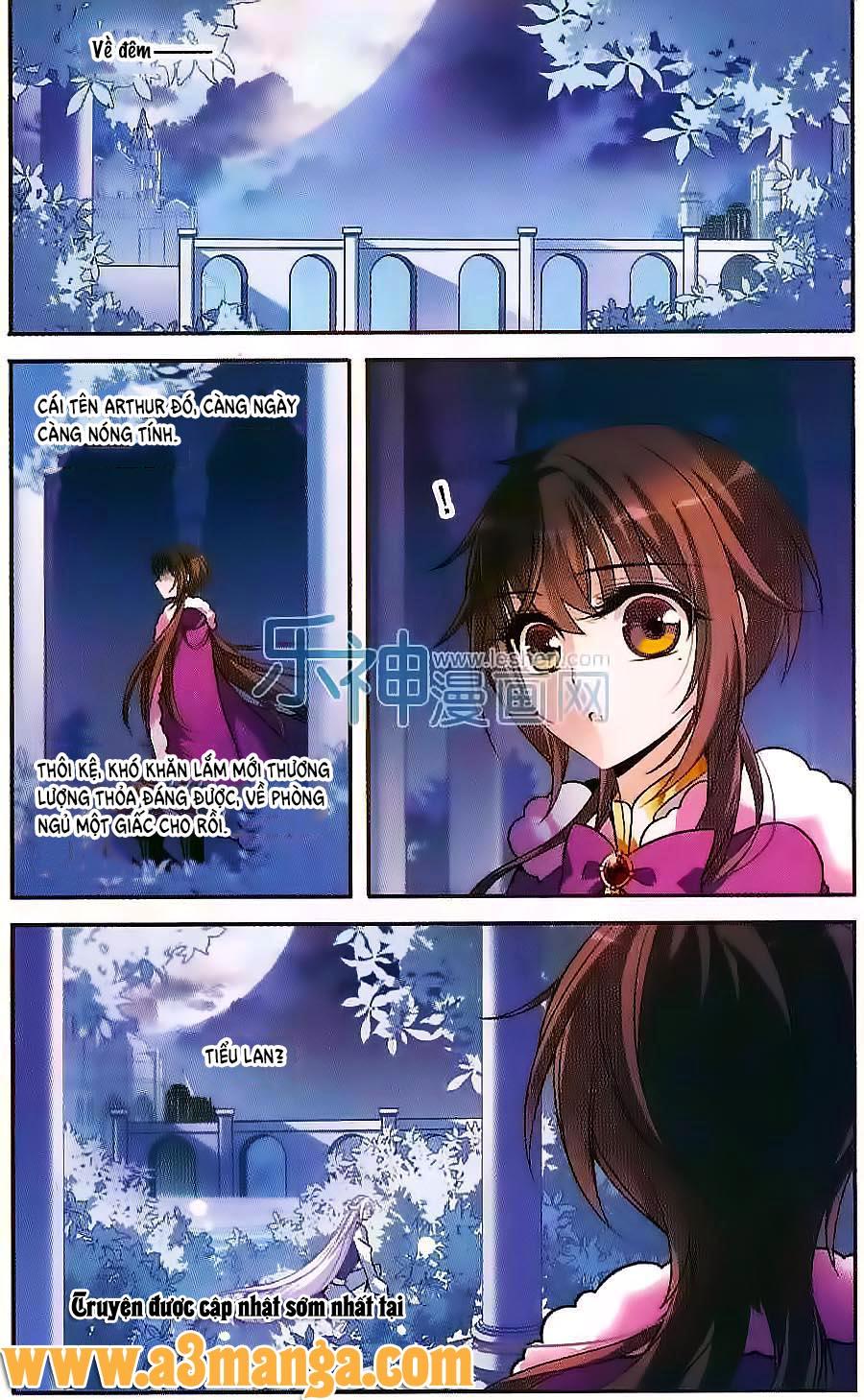 Kỵ Sĩ Hoang Tưởng Dạ chap 118 Trang 3 - Mangak.info