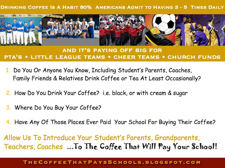 Coffee Fundraiser That Pays