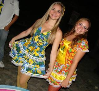 fotos de modelos de Vestidos Caipiras