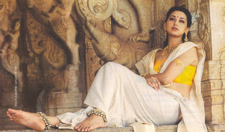 sonali bendre in saree photoshoot