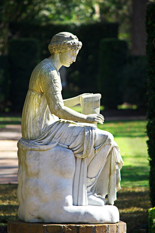 greco-roman statue - photo copyright Allison Beth Cooling