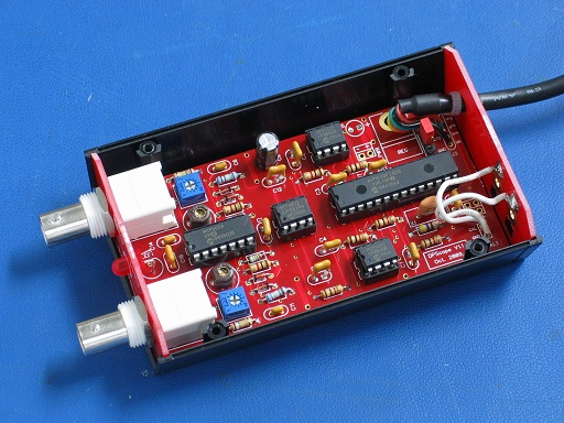Oscilloscope With dsPIC microcontroller