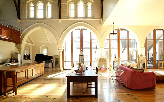 churches converted into homes j e a n. Black Bedroom Furniture Sets. Home Design Ideas