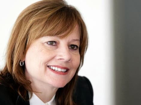 Mary Barra first job General Motors intern
