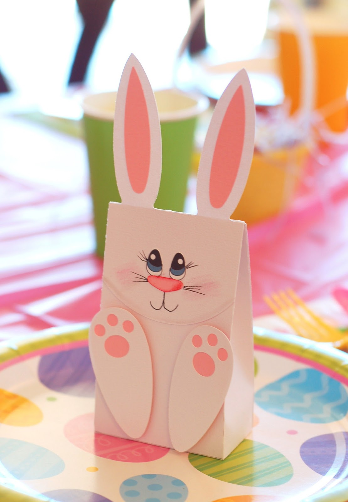 Paper creations by kristin april 2013 easter bunny gift bags negle Images