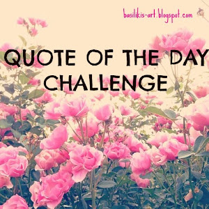 QUOTE OF THE DAY CHALLENGE