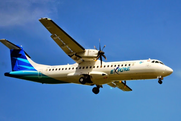 Garuda Indonesia, ATR 72-600 Explore. ZonaAero