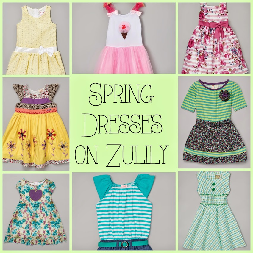Spring Dresses from Zulily