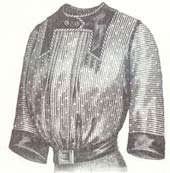 Blouse of Muslin Weight Wool