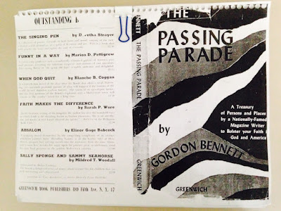 Climbing My Family Tree: Photocopy of The Passing Parade by Gordon Bennett cover, sent me by my Aunt
