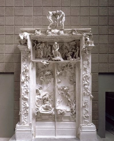 Auguste Rodin (1840-1917) The Gates of Hell & ArtWithHillary: August 2014 pezcame.com