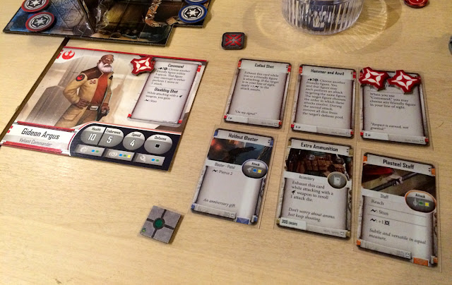 Star Wars Imperial Assault character cards