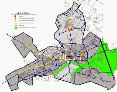 Estructura urbana de Barquisimeto