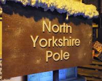 North Yorkshire Pole Sign