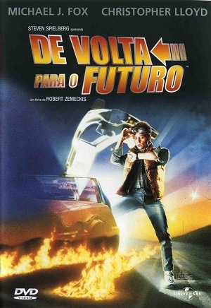 De Volta Para o Futuro Blu-Ray Filmes Torrent Download capa