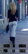 Fotos de chicas por la calle
