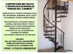 CARPINTERÍA METÁLICA Y SERVICIOS GENERALES ''VIRGEN DEL CARMEN ''