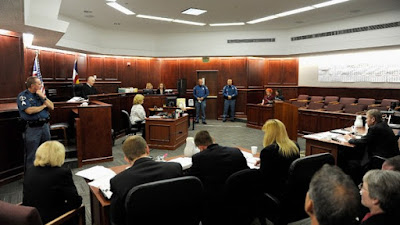 James Holmes during his July 2012 court appearance