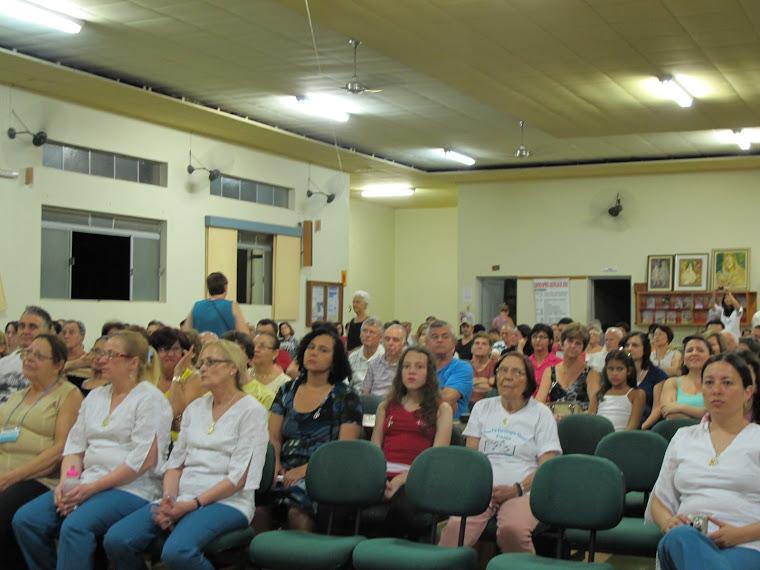 DIA: 17/11/2012: PÚBLICO PRESENTE NA APRESENTAÇÃO DO CORAL UNIÃO E HARMONIA