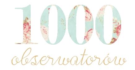 1000 obserwatorów!