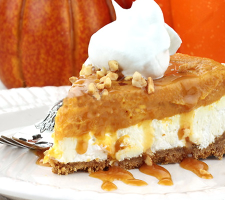 Double Layer Pumpkin Cheesecake Recipes