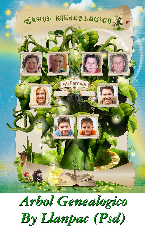 Asombroso Fabricante De Plantillas De árbol Familiar Ideas ...