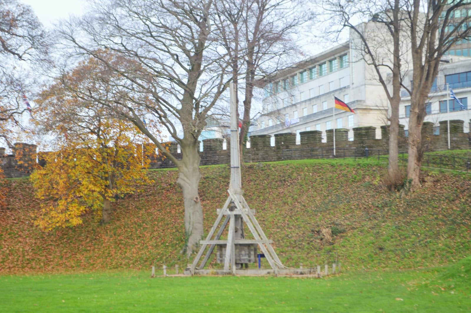 Trebuchet Cardiff Castle Wales