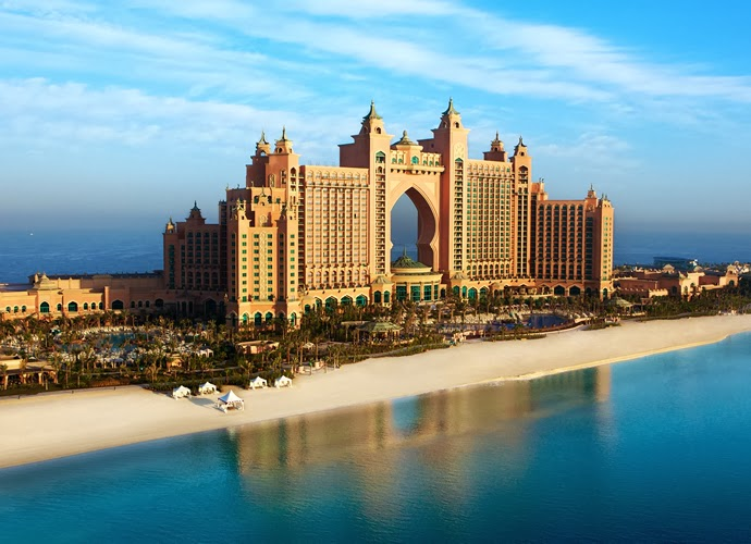 World 39 s ten most ambitious hotel propertiesglamorous for Dubai top hotels name