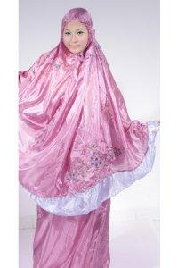 Mukena Abutai - Tropical Rose Tua (Toko Jilbab dan Busana Muslimah Terbaru)