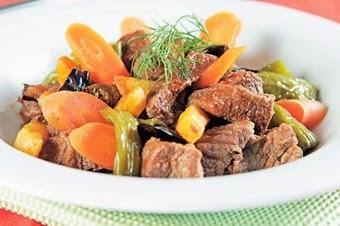Sebzeli haşlama bonfile tarifi