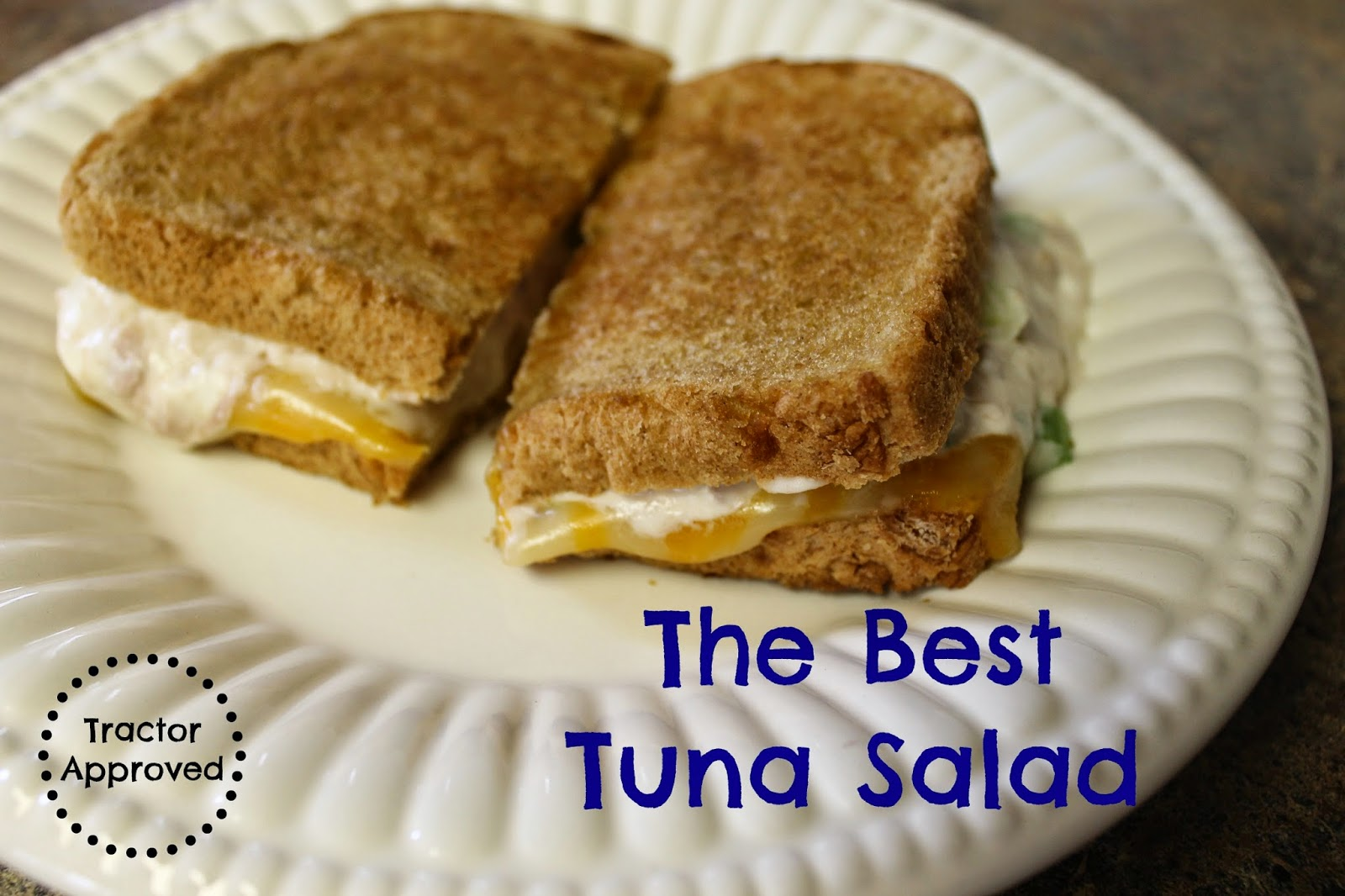 The Best Tuna Salad Recipe - Easy to make and great for melts!
