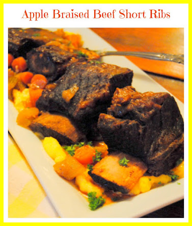 Apple Braised Beef Short Ribs