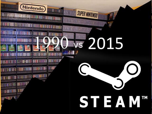 1990 vs 2015 - ¿Cómo disfrutar de un videojuego?