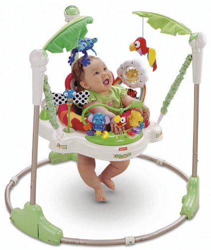 Baby Cinema Fisher Price Rainforest Jumperoo Baby Jumper