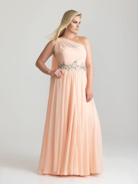 Vestidos para gorditas rosa palo