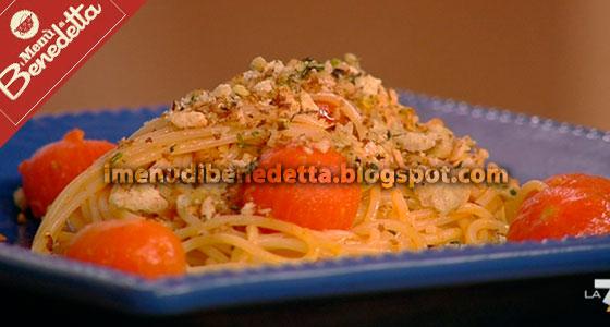 Spaghetti alla Nduja e Vaniglia di Benedetta Parodi