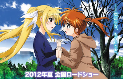 Mahou Shojo Lyrical Nanoha THE MOVIE 2nd A's Estreno Verano 2012