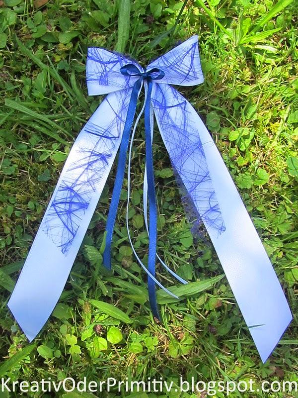 Kreativ oder primitiv antennenschleifen zur hochzeit for Schleife binden geschenk